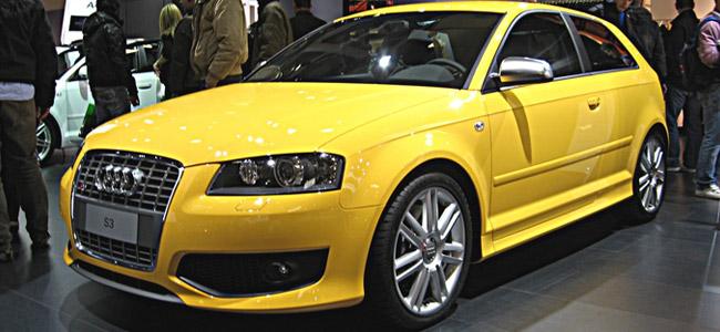 Audi S3 Yellow