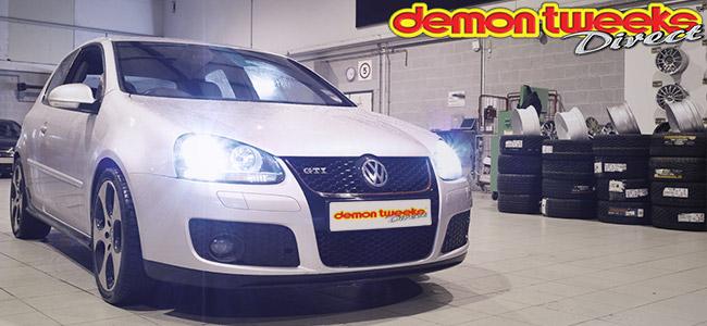 VW Golf GTI Mk5 Xenons Silver