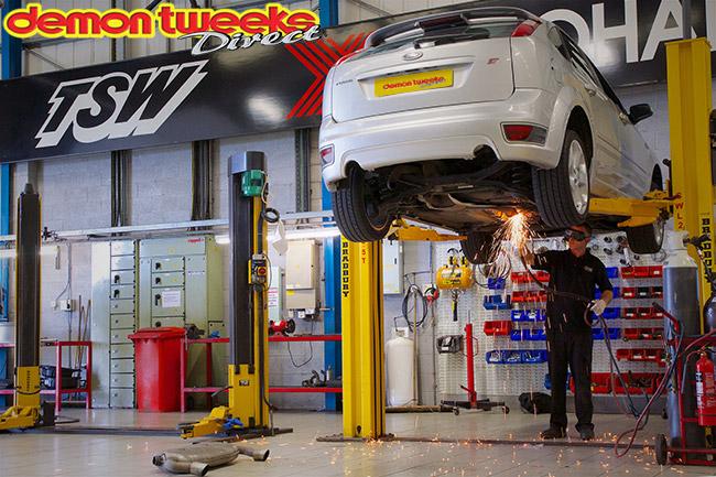 Gas Axe Exhaust Removal