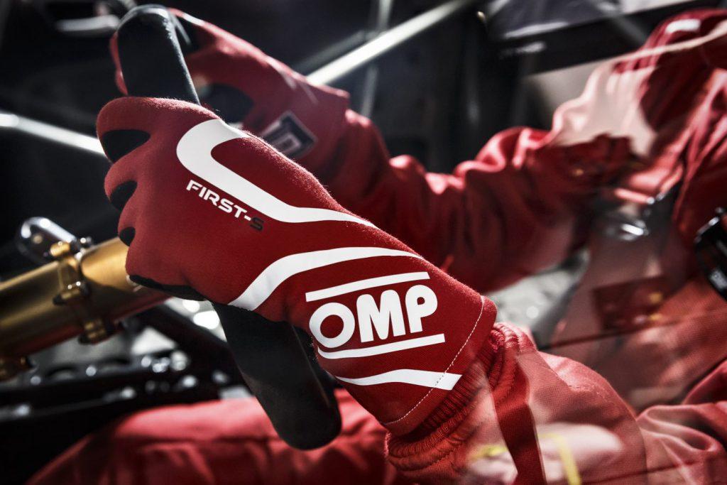 OMP Racing gloves