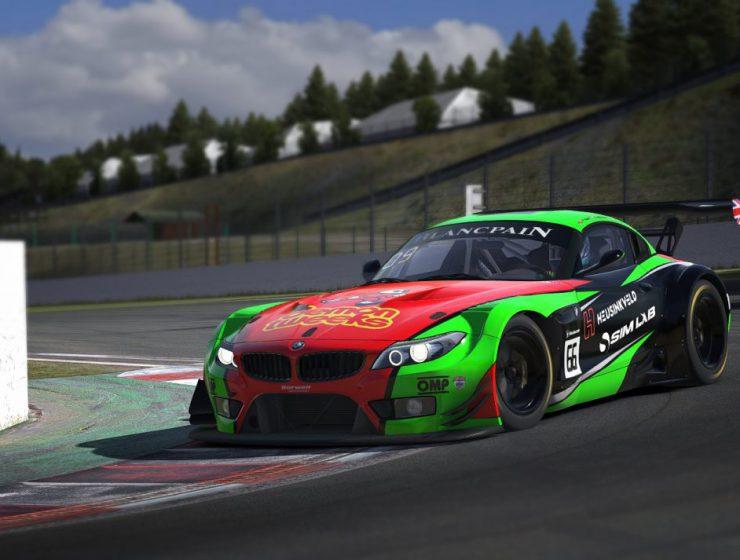 Motorsport sim racing