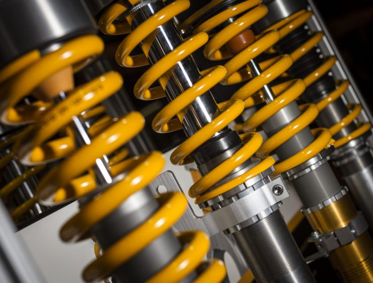 Racing coilovers
