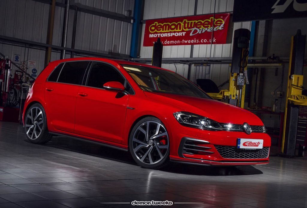 VW Golf GTD with Eibach Performance Lowering Springs
