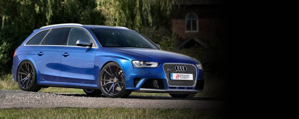Audi RS4 with 2Forge ZF1 Alloys