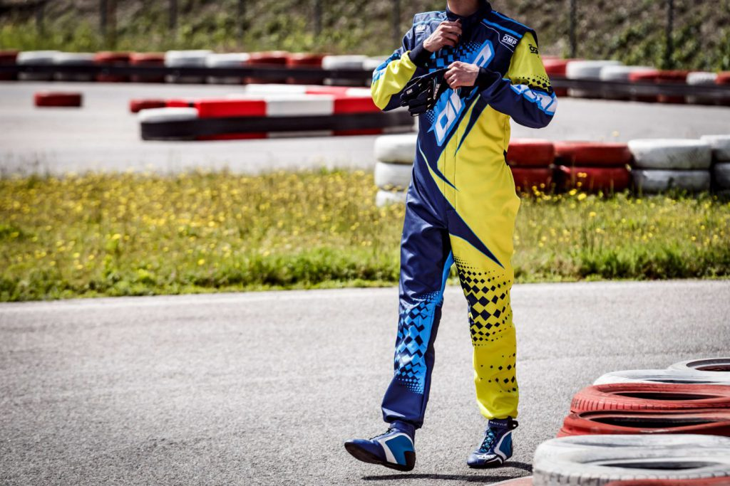 OMP karting race suit