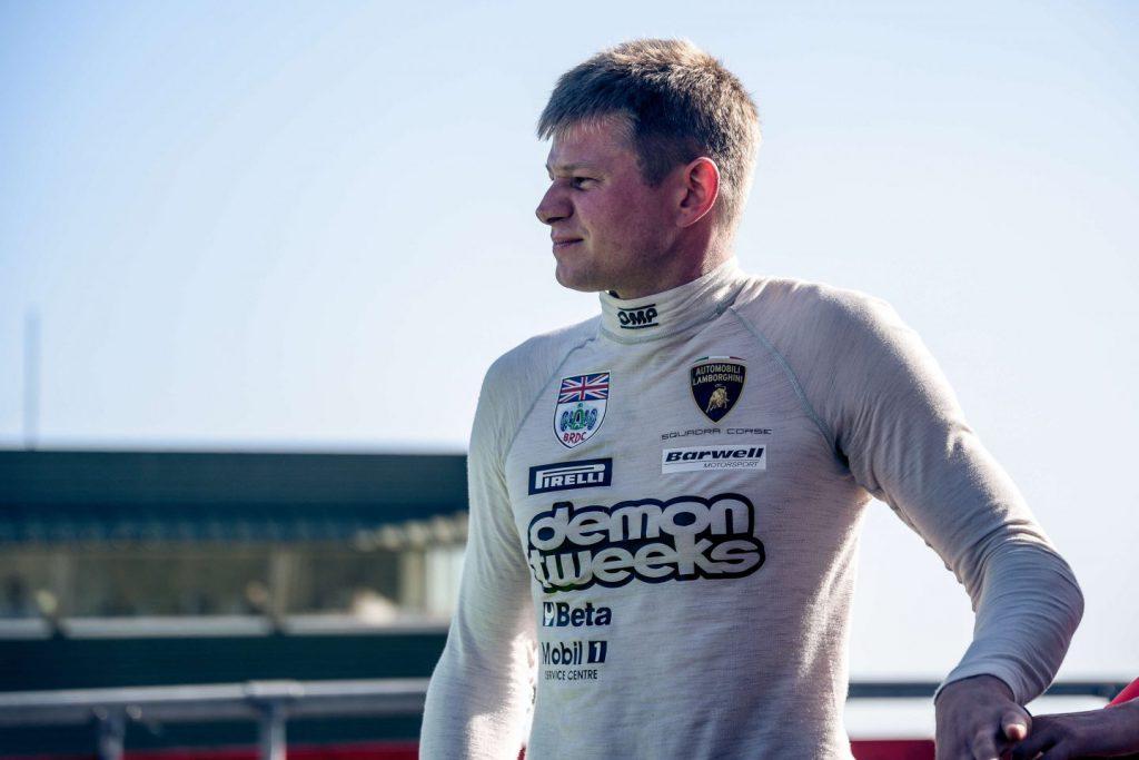 phil keen in his racing undersuit